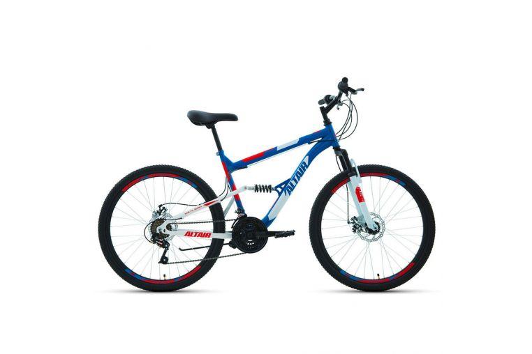 Велосипед Forward Altair MTB FS 26 2.0 Disc 18ск (2020)