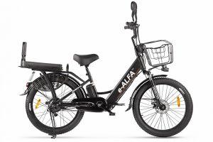 Велосипед Eltreco e-Alfa Fat (2020)