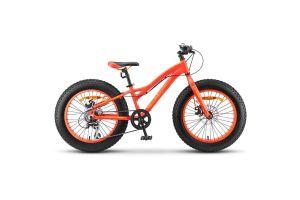 Велосипед Stels Aggressor MD 20' (FAT) V010 Неоновый-красный (LU092512)
